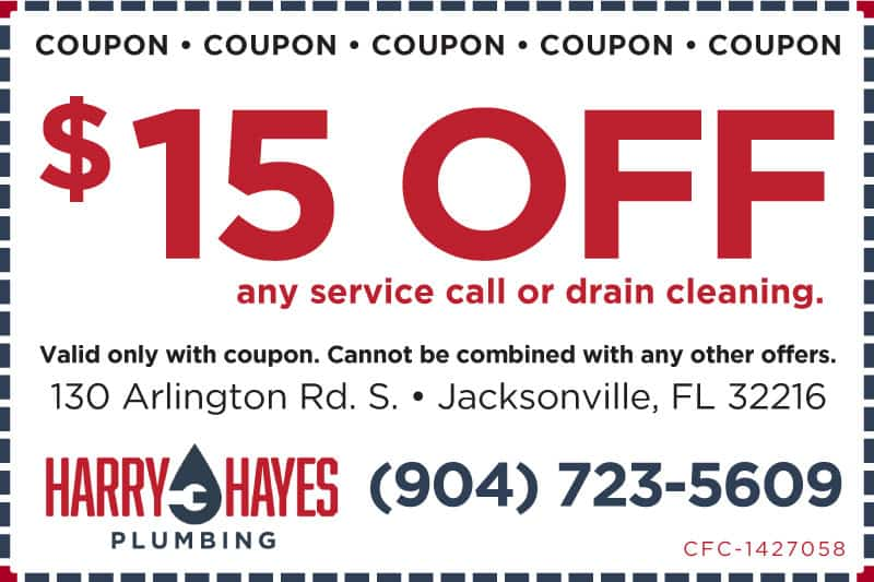 Plumber in Jacksonville, FL | Harry Hayes Plumbing | Water Heater Repair | Drain Cleaning