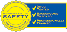 Technician Seal of Safety Plumbing in Jacksonville, FL